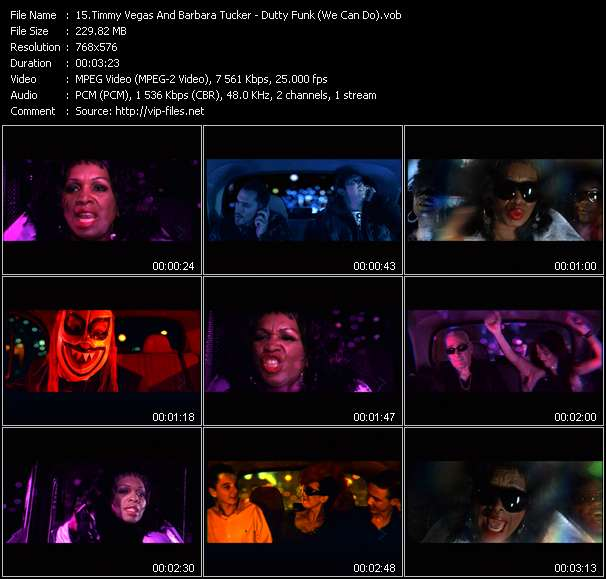 Timmy Vegas And Barbara Tucker video screenshot