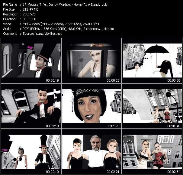 video Horny As A Dandy screen