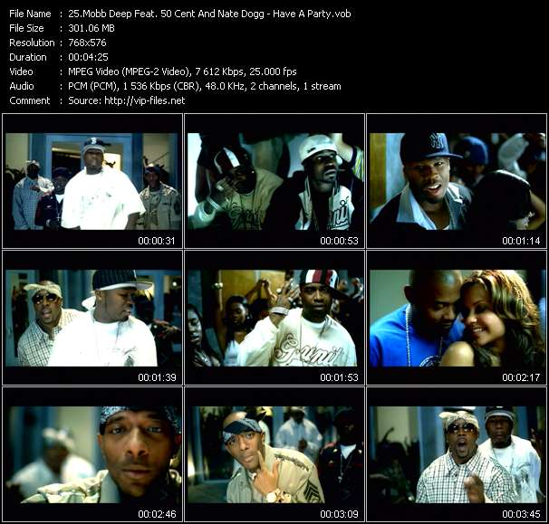 Mobb Deep Feat. 50 Cent And Nate Dogg video screenshot