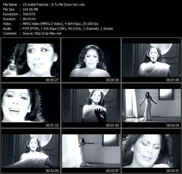 Isabel Pantoja video screenshot