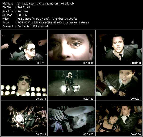 Tiesto Feat. Christian Burns video screenshot