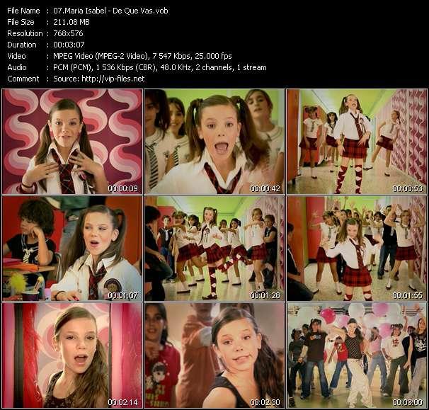 Maria Isabel video screenshot