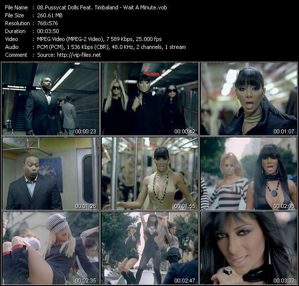 Download Timbaland video Wait A Minute, clip Promiscuous .