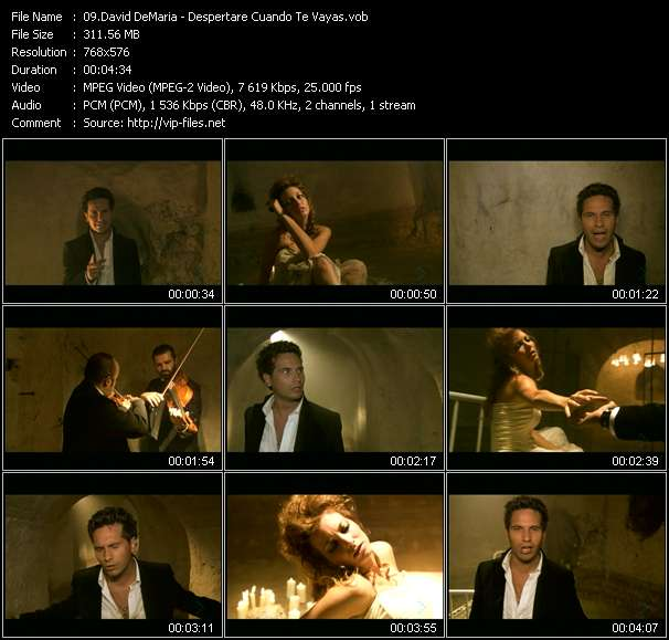 David DeMaria video screenshot