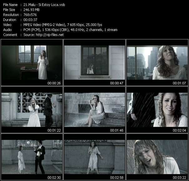 Malu video screenshot
