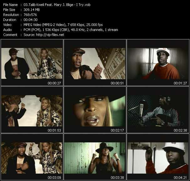 Talib Kweli Feat. Mary J. Blige video screenshot