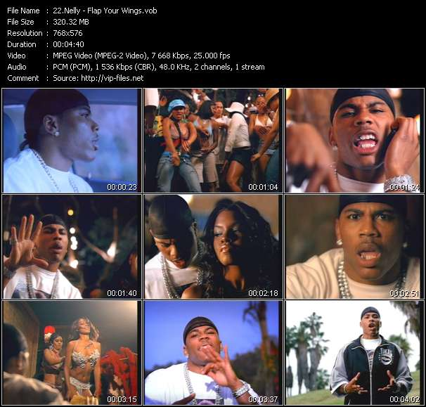 Nelly video screenshot