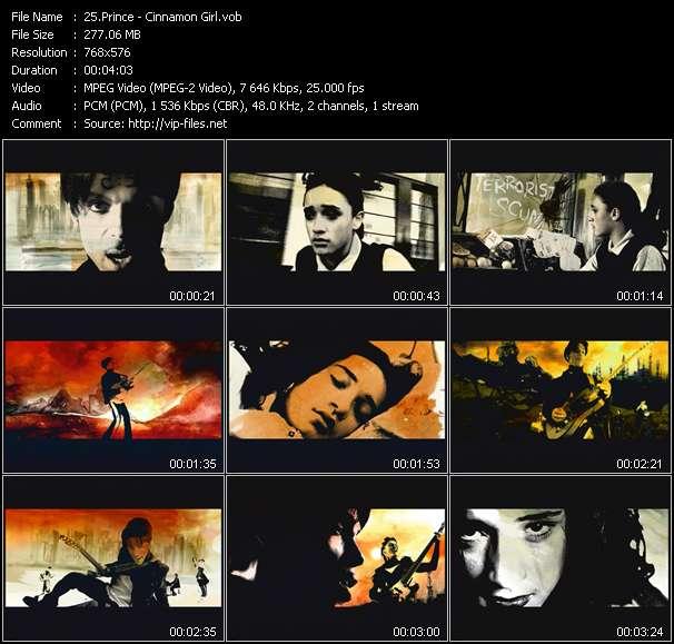 Prince video screenshot