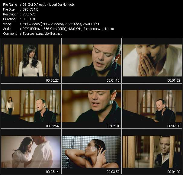 Gigi D'Alessio video screenshot