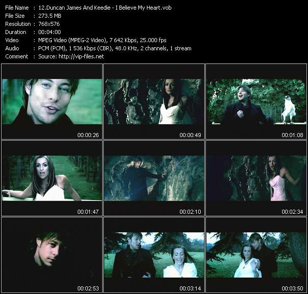 Duncan James And Keedie video screenshot