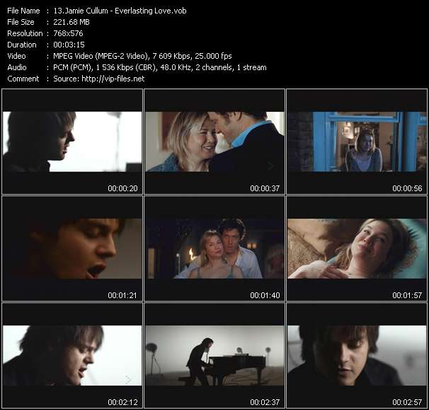 video Everlasting Love screen