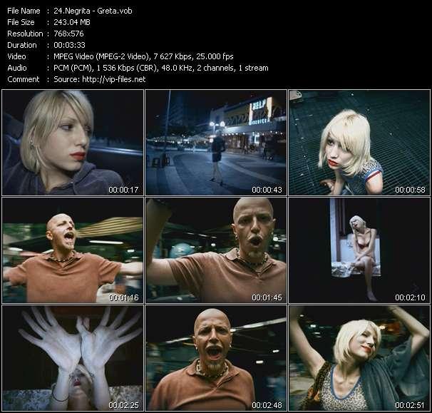 Negrita video screenshot