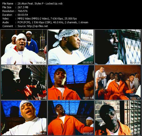 Akon Feat. Styles P video screenshot