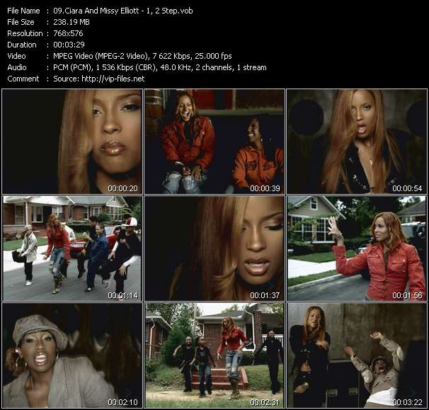 Ciara And Missy Elliott video screenshot
