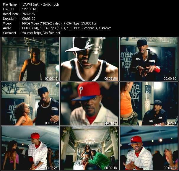 Will Smith video screenshot