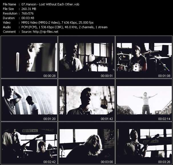 Hanson video screenshot