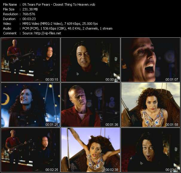 Tears For Fears video screenshot