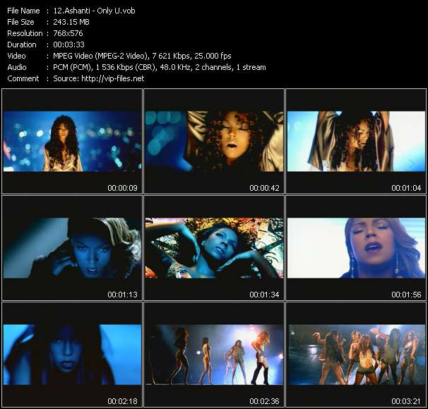 Ashanti video screenshot