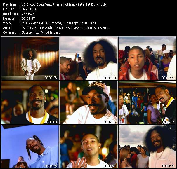 Snoop Dogg Feat. Pharrell Williams video screenshot
