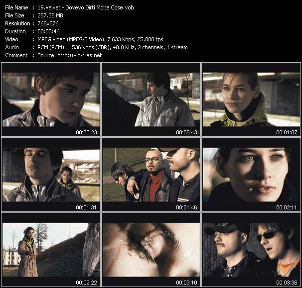 Velvet video screenshot