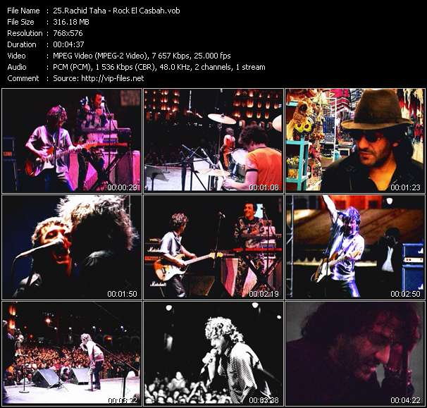 Rachid Taha video screenshot