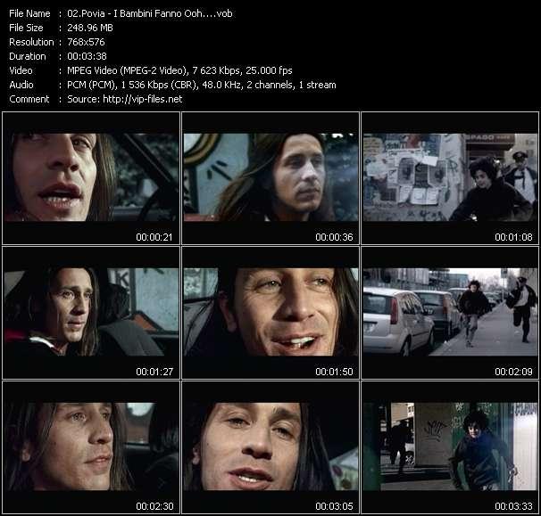 Povia video screenshot