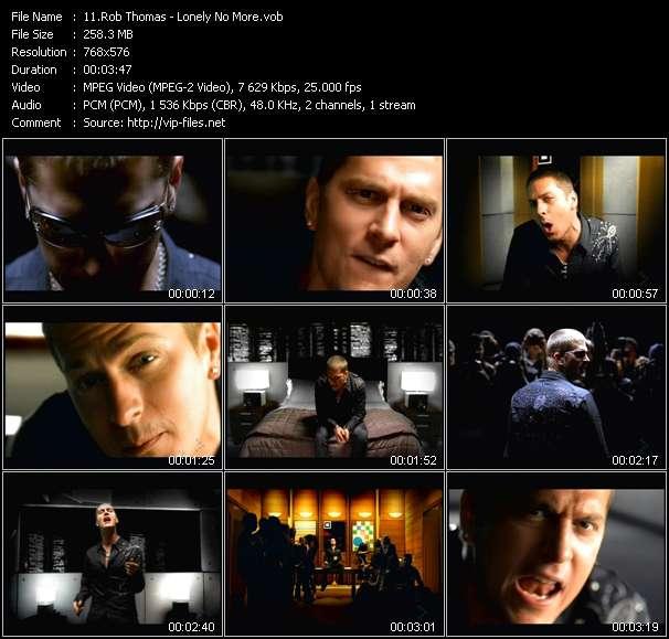 Rob Thomas video screenshot