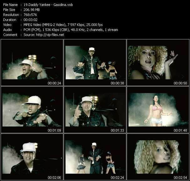 Daddy Yankee video screenshot