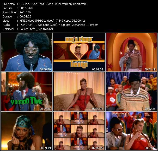 Black Eyed Peas video screenshot