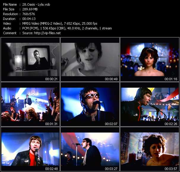 Oasis video screenshot