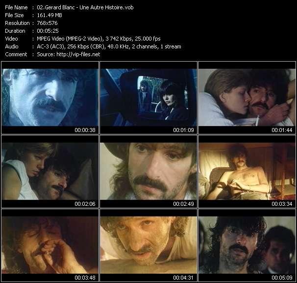 Gerard Blanc video screenshot