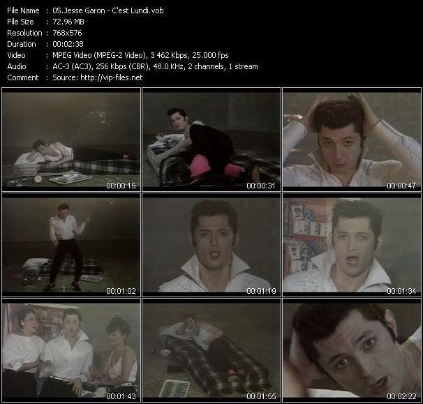 Jesse Garon video screenshot