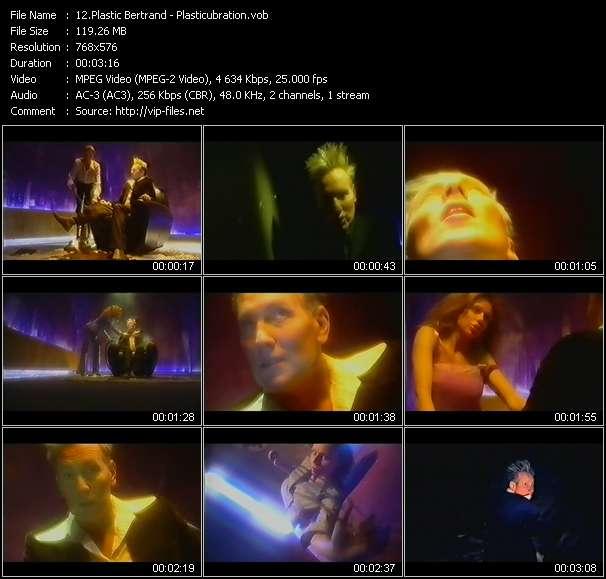 Plastic Bertrand video screenshot
