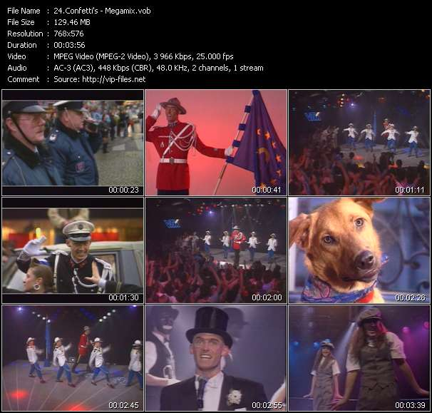 Confetti's video screenshot