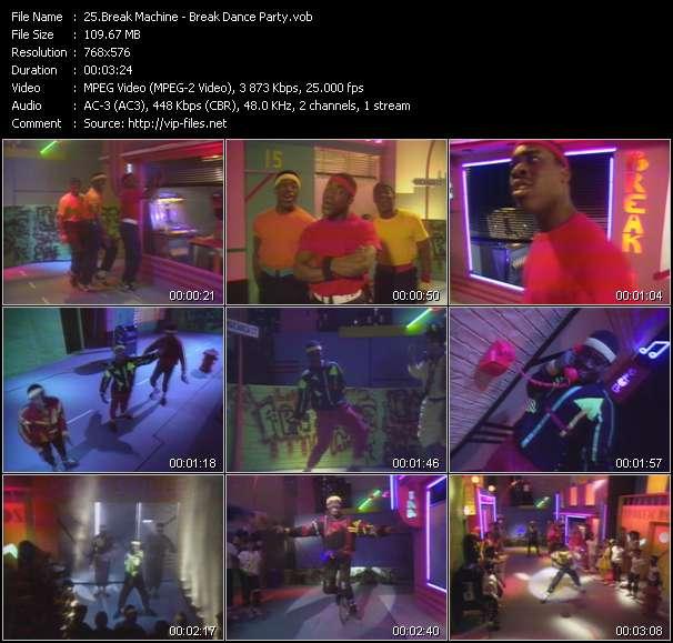 Break Machine video screenshot