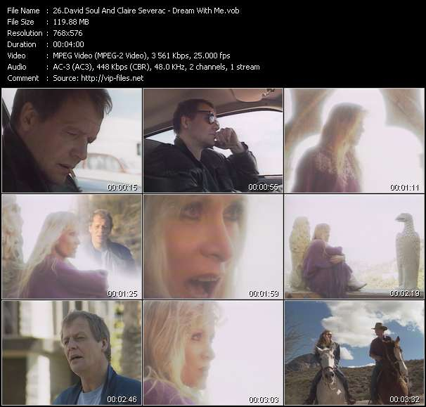 David Soul And Claire Severac video screenshot