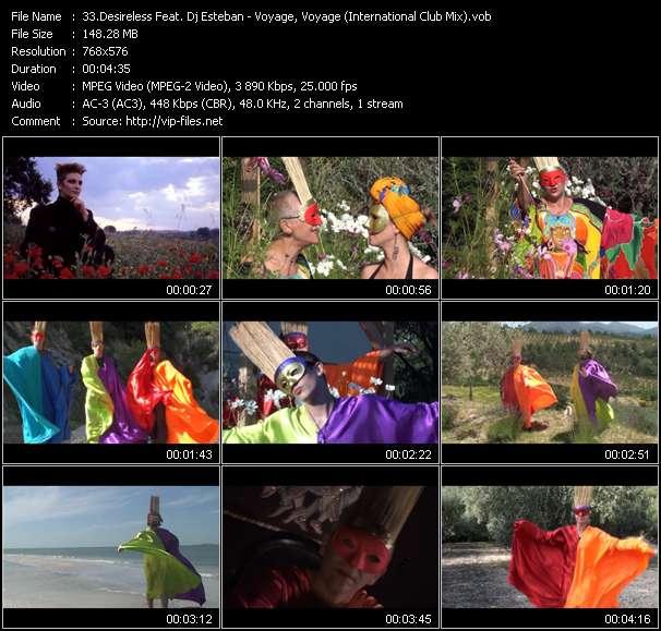 Desireless Feat. Dj Esteban video screenshot