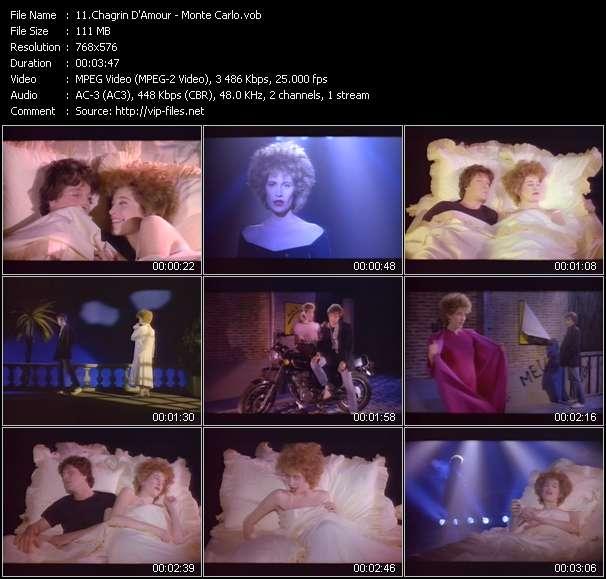 Chagrin D'Amour video screenshot