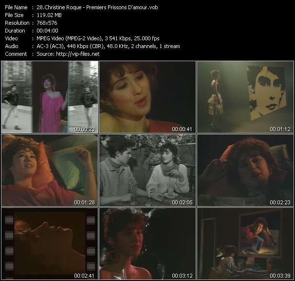 Christine Roque video screenshot