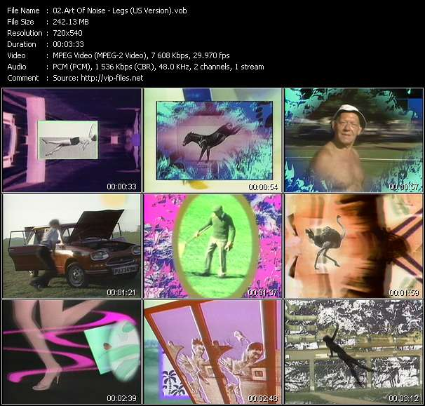 Art Of Noise video screenshot