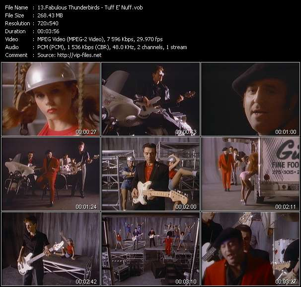 Fabulous Thunderbirds video screenshot