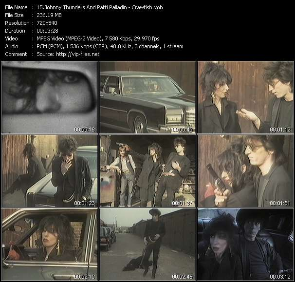 Johnny Thunders And Patti Palladin video screenshot