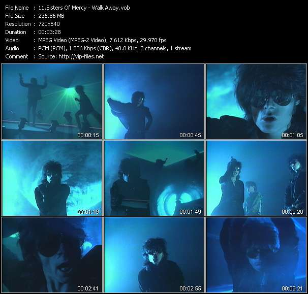 Sisters Of Mercy video screenshot