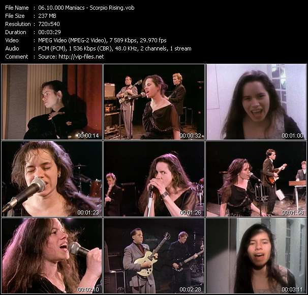 10.000 Maniacs video screenshot