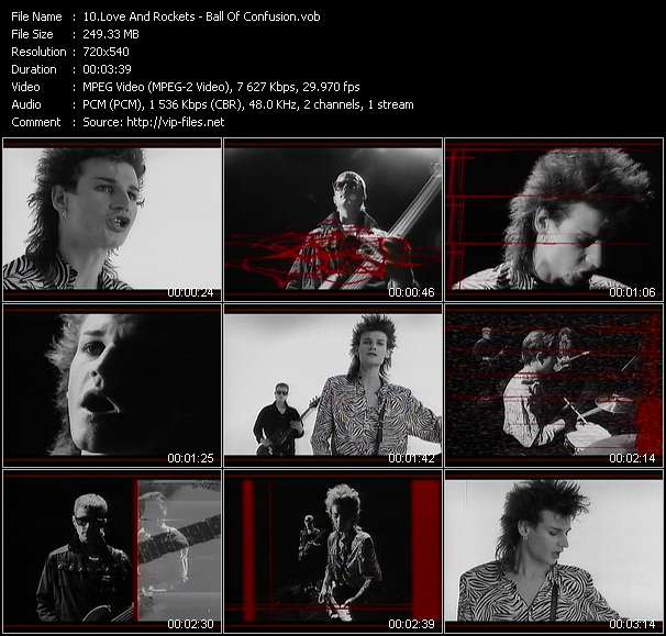 Love And Rockets video screenshot