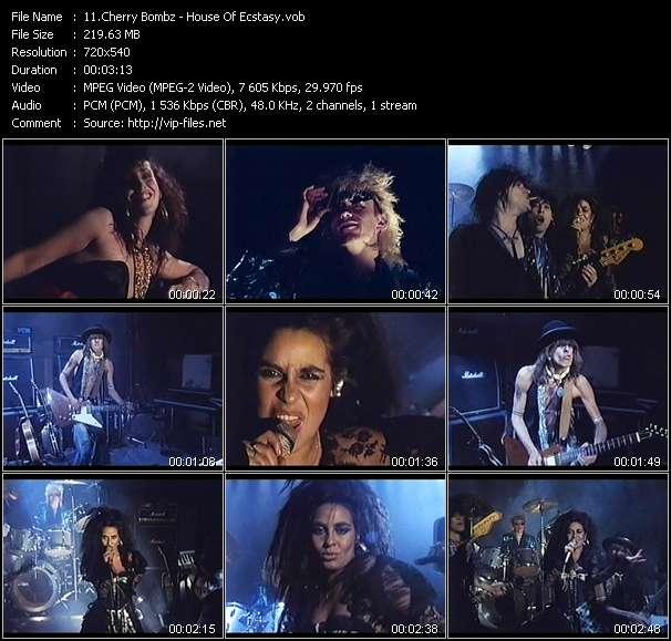Cherry Bombz video screenshot