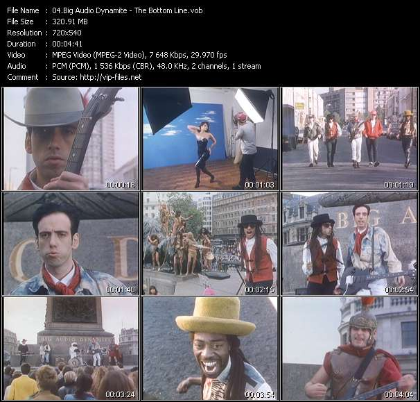 Big Audio Dynamite video screenshot