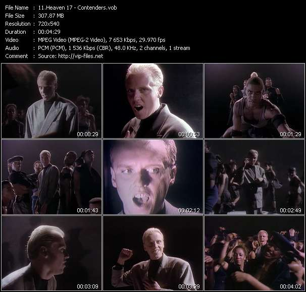 Heaven 17 video screenshot