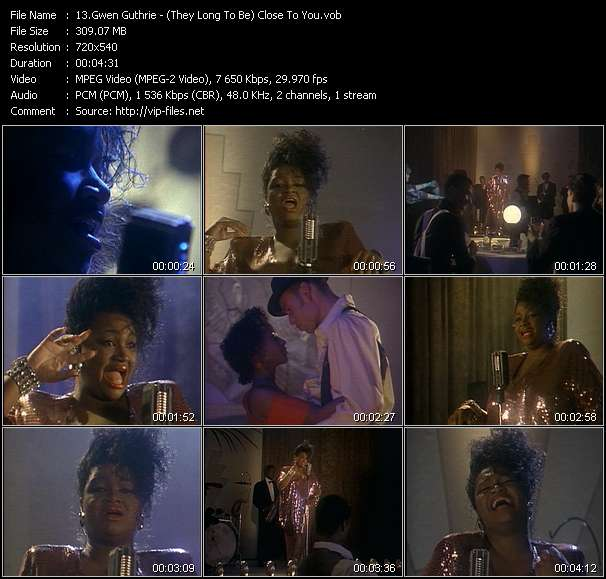 Gwen Guthrie video screenshot