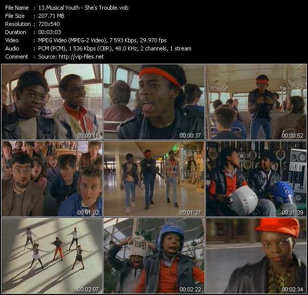 Musical Youth video screenshot